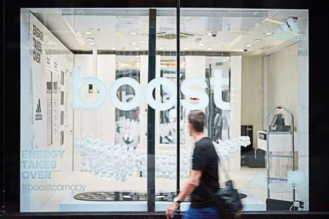 Dedicated Sneaker Pop-Up Shops - This Adidas BOOST Pop-Up Launches the Tech in London
