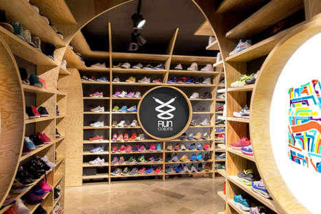 Gothic Footwear Boutiques - This Warsaw Store Boasts Church-Inspired Interior Architecture