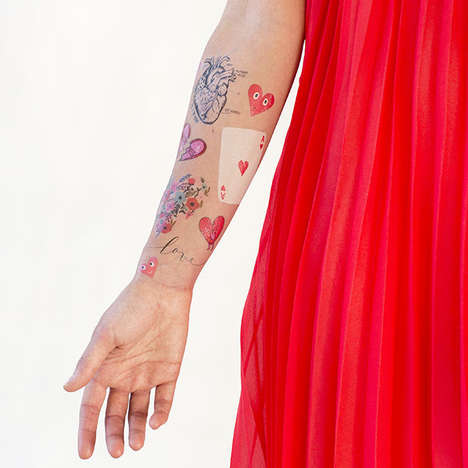 Romantic Temporary Tattoo Sets