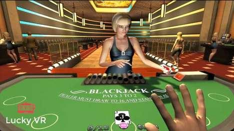 Immersive VR Casinos
