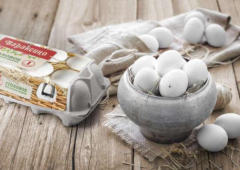 Farm Fresh Egg Branding