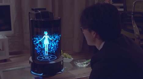Holographic Home Robots