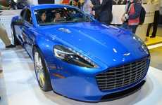 Connected Concept Cars - The RapidE S is a Connected Car That Blends Luxury and Technology