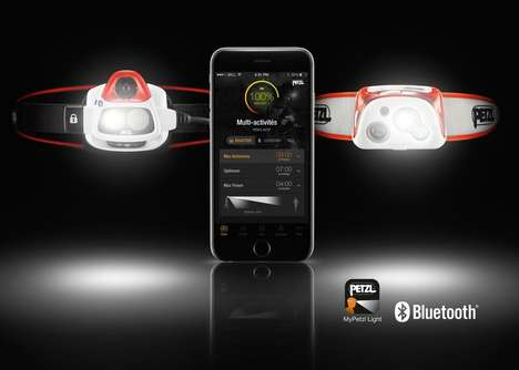 Bluetooth-Controlled Headlamps