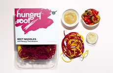 Pre-Packaged Vegetable Noodles - The Hungry Root Offers Carb-Free Noodle Alternatives
