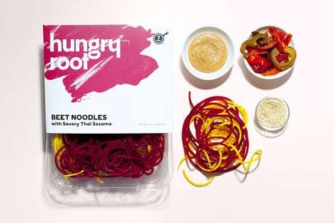 Pre-Packaged Vegetable Noodles