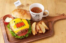 Anime Mascot Eateries - The Domo-kun Diner Offers Food Themed After the Popular Monster Character