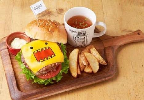 Anime Mascot Eateries