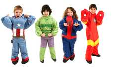 Superhero Sleeping Bags