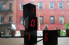 Stackable Digit Clocks