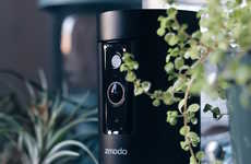 Discreet Motion-Detecting Cameras - The Zmodo Pivot Robotic 360 Camera Offers Connected Security