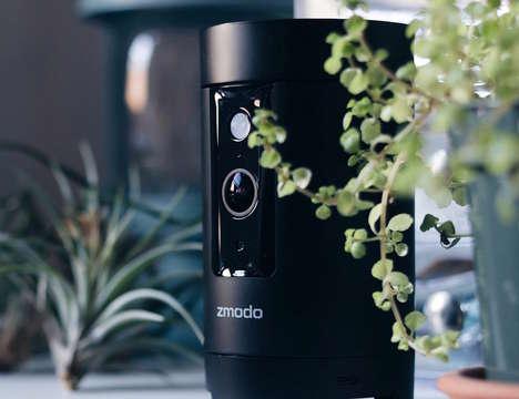Discreet Motion-Detecting Cameras