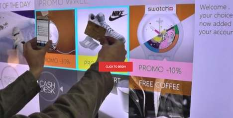 Contactless Payment Screens