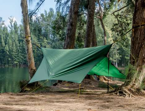 Dual-Use Camping Equipment