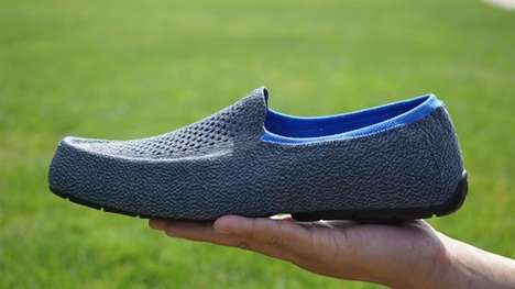Knit 3D-Printed Shoes - JS Shoes Manufactures with 3D Printing and Automated Knitting Machines