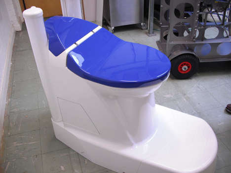 Waste-Converting Toilets - The 'Nano Membrane Toilet' Turns Human Waste into Clean Water and Ash