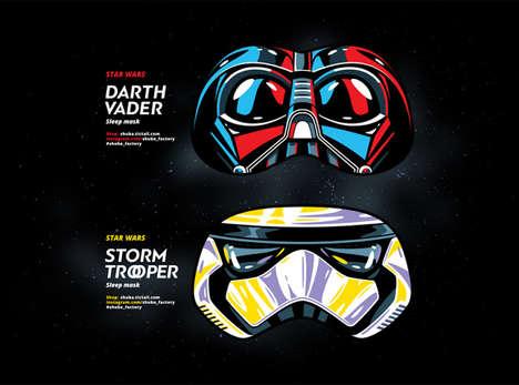 Sci-Fi Sleep Masks