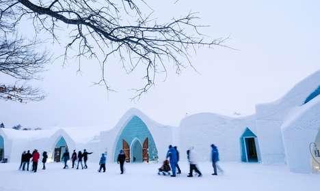 Lavish Ice Hotels