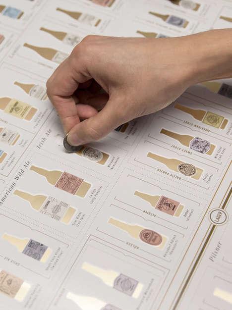 Scratch-Off Beer Infographics