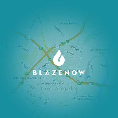 Convenient Cannabis Service Apps - Blazenow is a New App That Helps Users Find Dispensaries
