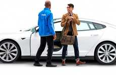 Valet Parking Apps - The Tesla Luxe Partnership Provides Premium Parking for Electric Car Owners