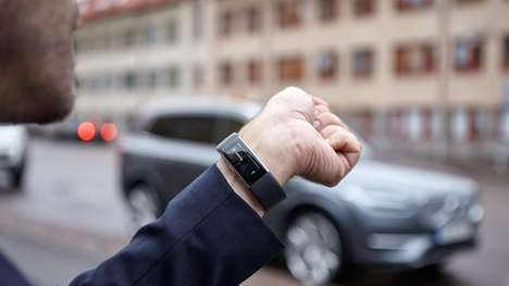 Car-Controlling Smart Bands