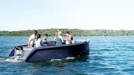 Lightweight Electric Motorboats
