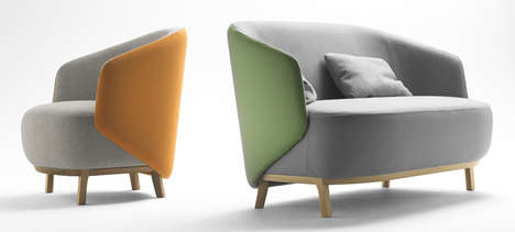 Stylish Seashell Armchairs