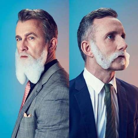 Bubble Beard Portraits