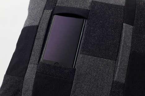 Smartphone-Cradling Cushions