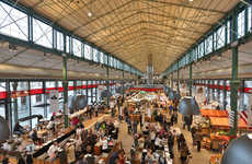 Sprawling Italian Food Markets - Eataly Munich is the Latest in the Empire's Growing List of Stores