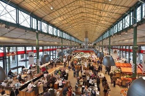 Sprawling Italian Food Markets
