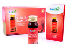 Immunity-Boosting Vitamin Shots - The TruLife Lingzhi Immunity Drink Restores Energy and Vitality
