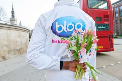Blue Monday Happiness Promotions - Toilet Cleaner Brand Bloo's Delighted Consumers with Bloo Monday