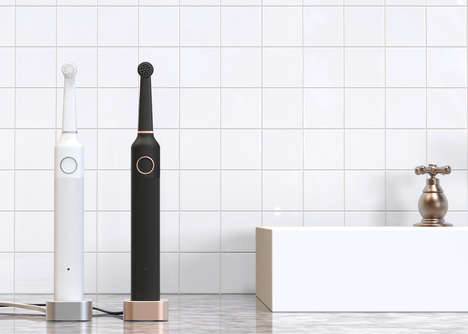 Minimalist Electric Toothbrushes