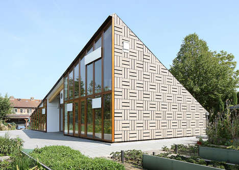 Sustainable Triangular Buildings - This Educational Facility Puts Sustainable Design into Practice