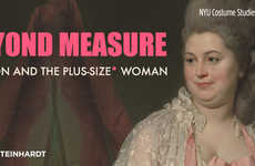 Plus-Size Fashion Exhibits - The 'Beyond Measure' Exhibit Explores the History of Plus-Size Women