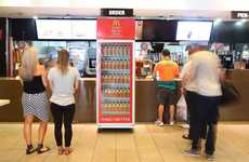 Burger Sauce Vending Machines - McDonald's Australia is Offering Bottled Big Mac Sauce to Patrons