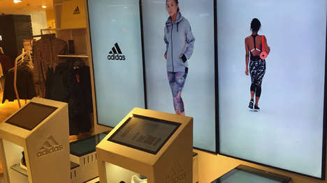 Touchscreen Fashion Displays