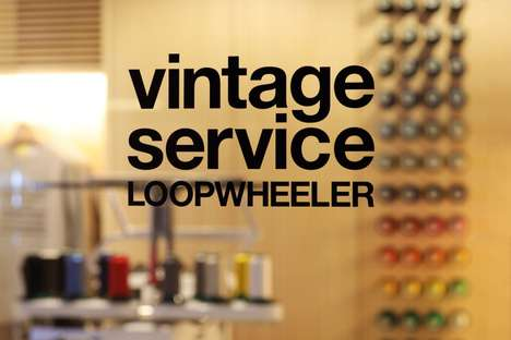 Branded Vintage Boutiques - 'LOOPWHEELER Vintage Service' is an Exclusive Concept Store in Tokyo