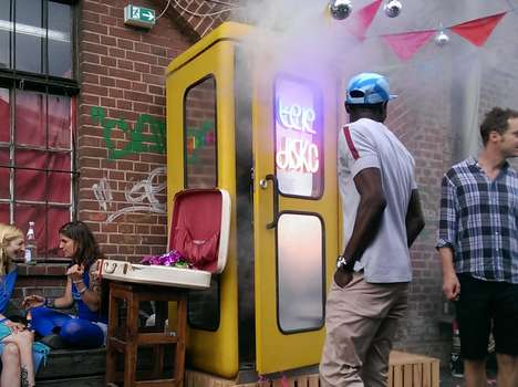 Single-Person Nightclubs - Berlin's Teledisko for One is the World's Smallest Dance Club