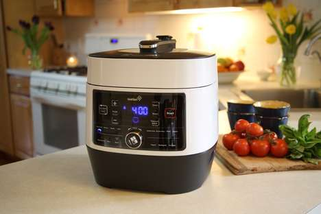 Nutrient-Preserving Cookers - The Ivation Programmable Pressure Cooker Ensures High-Grade Meals