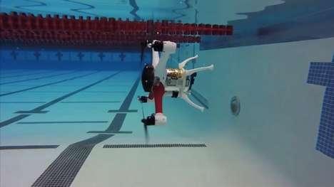 Amphibious Copter Drones