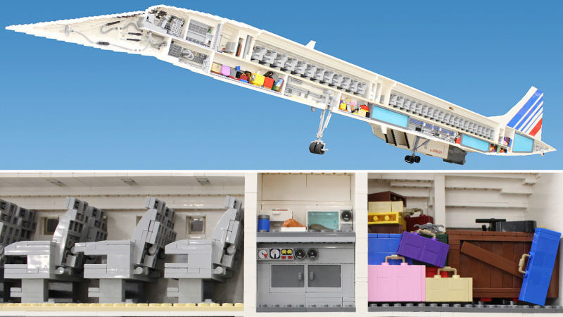 Supersonic LEGO Models
