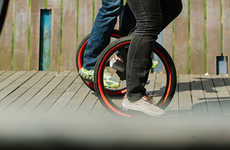 Lowered Beginner Unicycles