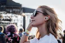 Personalized Music Festival Promotions - These Earbuds Help Users Contol the Live Audio Environment