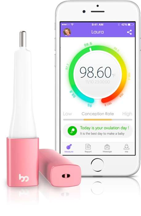 Fertility-Tracking Thermometers