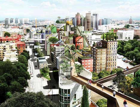 Connected City Skywalks