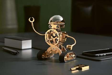 Luxurious Robot Clocks