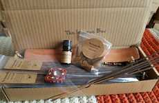 Natural Home Fragrance Subscriptions - The Incense Box Delivers Scented Stick and Essential Oil Kits